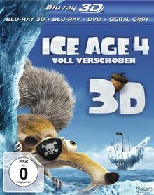 Ice Age 4 - Voll verschoben (+ Blu-ray + DVD + Digital Copy) [Blu-ray 3D]
