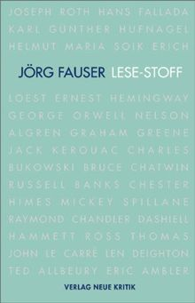 LESE-STOFF: Von Joseph Roth bis Eric Ambler