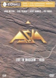 Asia - Live in Moscow Box-Set - DVD & CD [Collector's Edition]