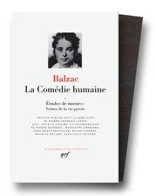 Balzac : La Comédie humaine, tome 1 (Pleiade)