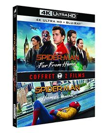 Coffret spider-man 2 films : homecoming ; far from home 4k ultra hd [Blu-ray] [FR Import]