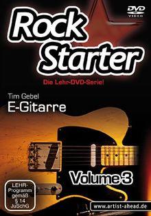 Rockstarter Vol.3 - E-Gitarre - Der dritte Teil der Lehr-DVD-Serie für Einsteiger! [HD DVD]