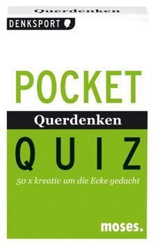 Pocket Quiz Querdenken: 50 x kreativ um die Ecke gedacht