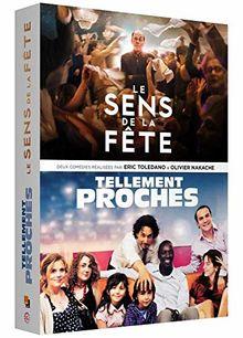 Coffret toledano / nakache 2 films : le sens de la fête ; tellement proches [FR Import]