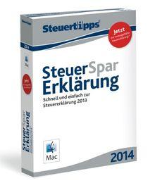Steuer-Spar-Erklärung 2014 Mac-Version (für Steuerjahr 2013)