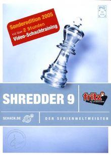 Shredder 9.0 Schach CD-ROM - Der Serienweltmeister - Sonderedition (inkl. Video-Training)