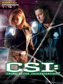 CSI: Crime Scene Investigation - Season 4.1 (3 DVDs)