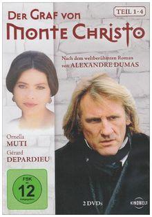 Der Graf von Monte Christo - Teil 1-4 [2 DVDs]