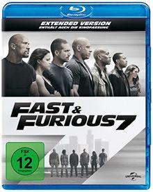 Fast & Furious 7 - Extended Version (inkl. Digital Ultraviolet) [Blu-ray]