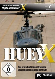 Flight Simulator X - HUEY X (Hubschrauber)