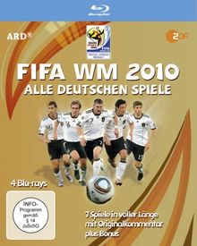 FIFA WM 2010 - Alle deutschen Spiele (4 Blu-ray Box)
