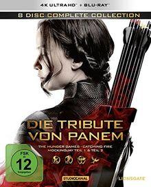 Die Tribute von Panem - Complete Collection (4K Ultra-HD) [Blu-ray]