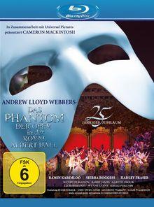 Das Phantom der Oper - zum 25. Jubiläum: Live aus der Royal Albert Hall London [Blu-ray]