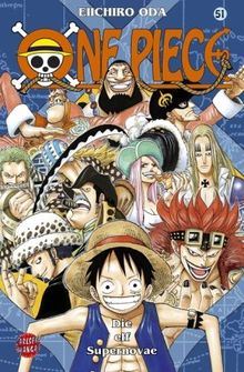 One Piece, Band 51: Die elf Supernovae