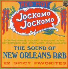 Red Hot Jockomo Jockomo von the Sound of New Orleans R&B   CD   Zustand neu