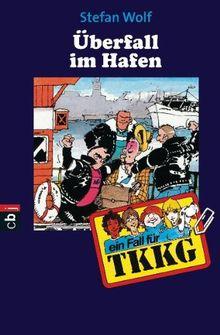 TKKG - Überfall im Hafen: Band 43