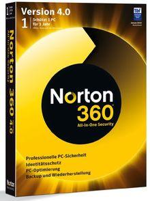 Norton 360 V4.0 1 PC