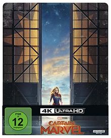 Captain Marvel 4K-UHD Steelbook (Limited Edition) [Blu-ray]