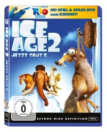 Ice Age 2 - Jetzt taut's (+ Rio Activity Disc) [Blu-ray]