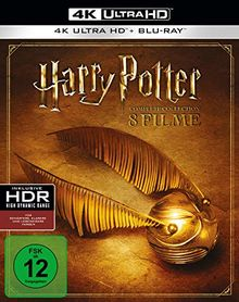 Harry Potter 4K Complete Collection [Blu-ray] [Limited Edition]
