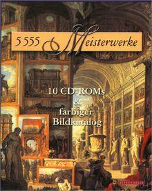 5555 Meisterwerke, CD-ROM, Digitale Galerie.