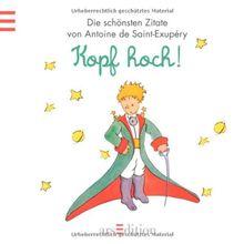 Kopf Hoch Der Kleine Prinz Kleiner Prinz Minibücher Von