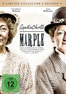 Agatha Christie: Marple - Die komplette Serie im hochwertigen BookPac mit 6-teiligem Postkarten-Set [Limited Collector's Edition] [exklusiv bei Amazon.de] [13 DVDs]