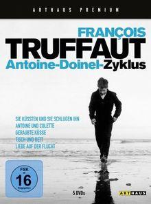 François Truffaut: Antoine-Doinel-Zyklus [5 DVDs]