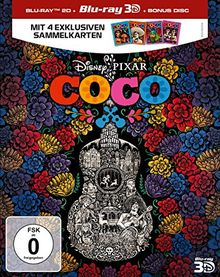 Coco (3D+2D BD + Bonus Disc) [3D Blu-ray]