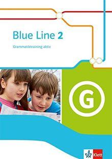 Blue Line / Grammatiktraining aktiv!: Ausgabe 2014