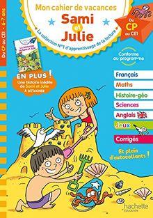 Mon cahier de vacances Sami et Julie : Du CP au CE1