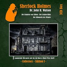 Sherlock Holmes 3cd Box Edition 1 (Folge 1-3)