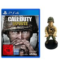 Call of Duty: WWII - Standard Edition - [PlayStation 4] + WWII Officer Muddy Guy Figur