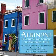 Albinoni:12 Cantatas for Soprano