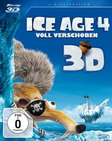 Ice Age 4 - Voll verschoben (+ BR) [3D Blu-ray]