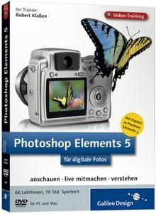 Photoshop Elements 5 für digitale Fotos - Video-Training (DVD-ROM)