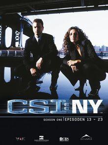 CSI: NY - Season 1.2 [3 DVDs]