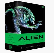 Alien Legacy 4er Box + Extra-DVD
