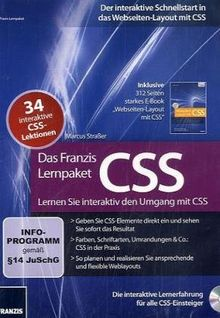 Das Franzis Lernpaket CSS