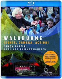 Waldbühne Berlin - Lights, Camera, Action - Waldbühne 2015 [Blu-ray]
