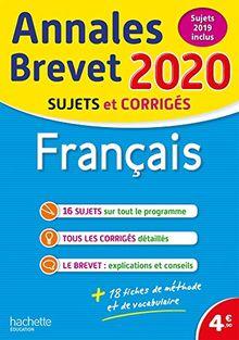 Français : Sujets et corrigés