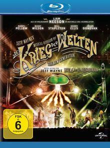 Jeff Wayne's Musical Version von Der Krieg der Welten [Blu-ray]