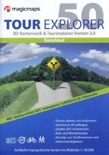Tour Explorer 50 Deutschland gesamt (DVD-ROM)