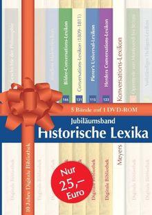 Jubiläumsband Historische Lexika (DVD-ROM)