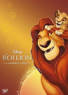 Coffret le roi lion 3 films : le roi lion ; l'honneur de la tribu ; hakuna matata
