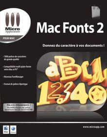Mac Fonts2