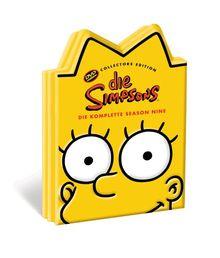 Die Simpsons - Die komplette Season 9 (Kopf-Tiefzieh-Box, Collector's Edition, 4 DVDs)
