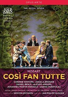 Mozart: Cosi Fan Tutte (Royal Opera House, 2016) [DVD]