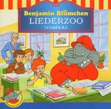 Benjamin Blümchen. Liederzoo. 1 x 1 und A, B, C. CD.