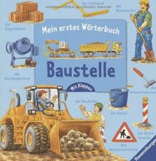 Mein erstes Wörterbuch: Baustelle